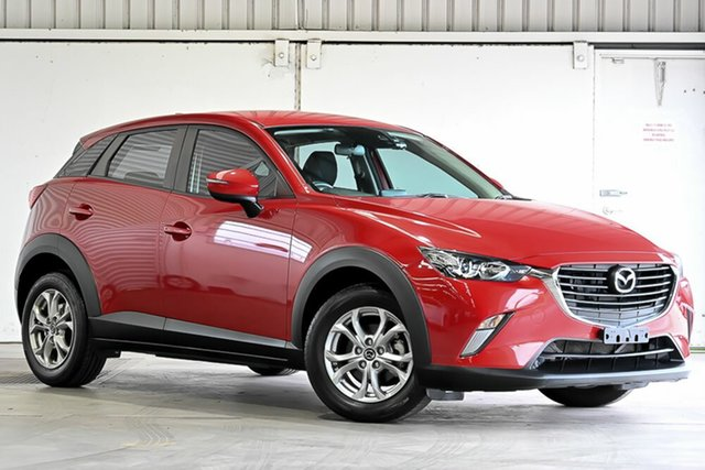 Used Mazda CX-3 DK2W7A Maxx SKYACTIV-Drive Laverton North, 2016 Mazda CX-3 DK2W7A Maxx SKYACTIV-Drive Red 6 Speed Sports Automatic Wagon