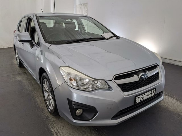 Used Subaru Impreza G4 MY14 2.0i Lineartronic AWD Maryville, 2014 Subaru Impreza G4 MY14 2.0i Lineartronic AWD Silver 6 Speed Constant Variable Hatchback