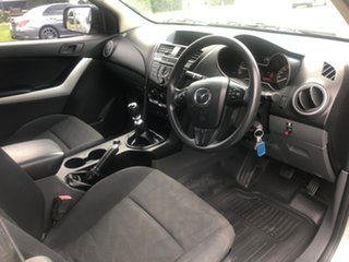 2014 Mazda BT-50 MY13 XT (4x4) Silver 6 Speed Manual Freestyle Cab Chassis