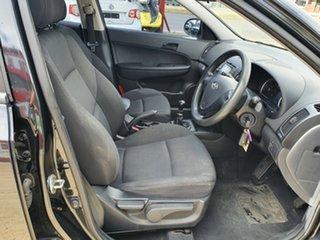 2008 Hyundai i30 FD SX Black 5 Speed Manual Hatchback