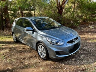 2017 Hyundai Accent RB6 MY18 Sport Lake Silver 6 Speed Sports Automatic Hatchback