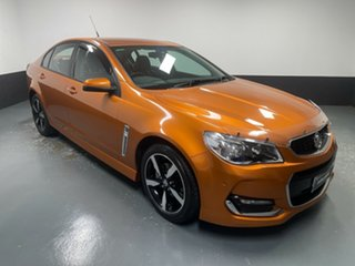 2017 Holden Commodore VF II MY17 SV6 Orange 6 Speed Sports Automatic Sedan.