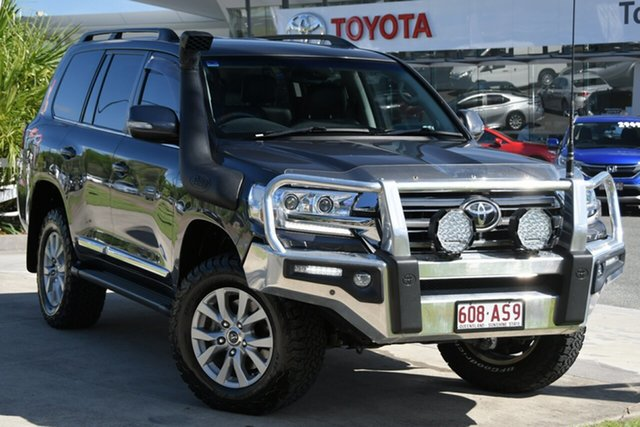 Pre-Owned Toyota Landcruiser VDJ200R Sahara North Lakes, 2016 Toyota Landcruiser VDJ200R Sahara Graphite 6 Speed Sports Automatic Wagon