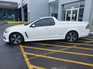 2014 Holden Ute VF MY14 SV6 Ute Storm White 6 Speed Manual Utility