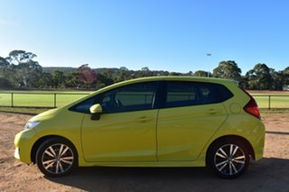 2015 Honda Jazz GF MY15 VTi Yellow 1 Speed Constant Variable Hatchback