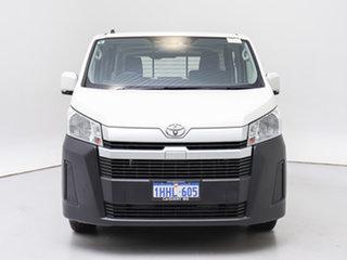 2020 Toyota HiAce GDH300R LWB White 6 Speed Automatic Van.