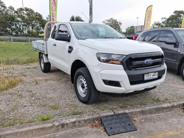 Used Ford Ranger PX MkII XL Hi-Rider Glendale, 2015 Ford Ranger PX MkII XL Hi-Rider White 6 Speed Sports Automatic Utility