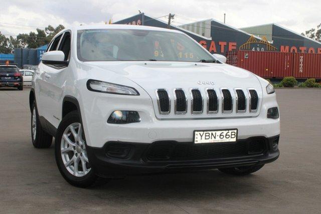 Used Jeep Cherokee KL Sport (4x2) West Footscray, 2014 Jeep Cherokee KL Sport (4x2) 9 Speed Automatic Wagon