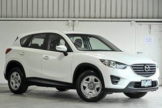 2015 Mazda CX-5 KE1072 Maxx SKYACTIV-Drive White 6 Speed Sports Automatic Wagon.