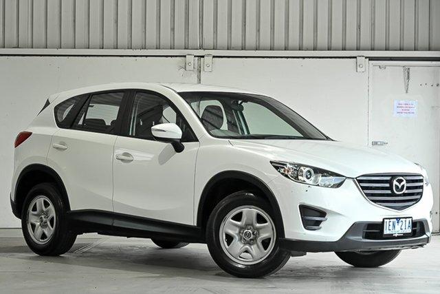 Used Mazda CX-5 KE1072 Maxx SKYACTIV-Drive Laverton North, 2015 Mazda CX-5 KE1072 Maxx SKYACTIV-Drive White 6 Speed Sports Automatic Wagon
