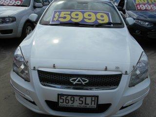 2012 Chery J3 M1X White 5 Speed Manual Hatchback.