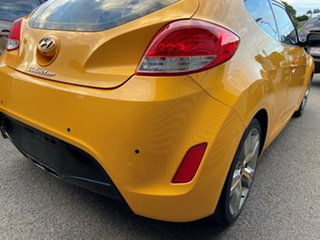 2012 Hyundai Veloster FS2 Coupe D-CT Yellow 6 Speed Sports Automatic Dual Clutch Hatchback.