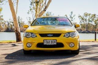 2005 Ford Falcon BF XR6 Yellow 6 Speed Auto Seq Sportshift Sedan