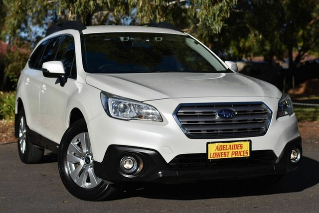 Used Subaru Outback B6A MY16 2.0D CVT AWD Melrose Park, 2016 Subaru Outback B6A MY16 2.0D CVT AWD White 7 Speed Constant Variable Wagon