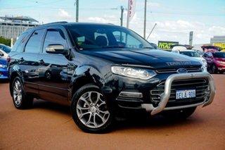 2012 Ford Territory SZ Titanium Seq Sport Shift AWD Black/27 6 Speed Sports Automatic Wagon.