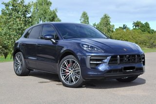 2020 Porsche Macan 95B MY20 GTS PDK AWD Blue 7 Speed Sports Automatic Dual Clutch Wagon.