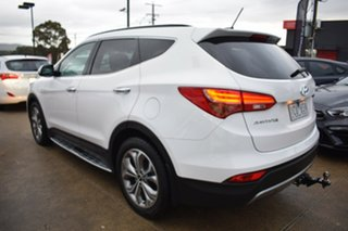 2014 Hyundai Santa Fe DM MY14 Highlander White 6 Speed Sports Automatic Wagon