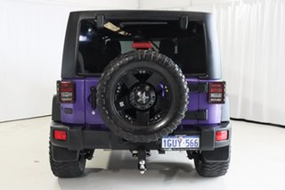 2018 Jeep Wrangler JK MY18 Unlimited Sport Purple 6 Speed Manual Softtop