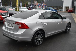 2014 Volvo S60 F Series MY14 T5 Geartronic R-Design Silver 8 Speed Sports Automatic Sedan