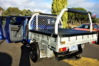 2015 Ford Ranger PX MkII XL Hi-Rider Blue 6 Speed Sports Automatic Cab Chassis