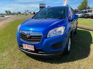 2015 Holden Trax TJ MY16 LS Blue 5 Speed Manual Wagon.