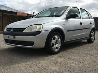 2002 Holden Barina XC Equipe Silver 4 Speed Automatic Hatchback