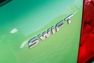 2010 Suzuki Swift RS415 Green 5 Speed Manual Hatchback
