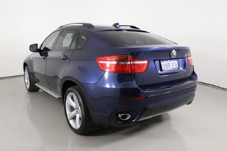 2011 BMW X6 E71 MY11 xDrive40d Blue 8 Speed Automatic Coupe