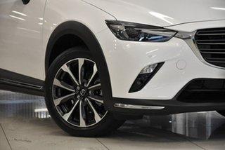 2021 Mazda CX-3 DK2W7A Akari SKYACTIV-Drive FWD White 6 Speed Sports Automatic Wagon
