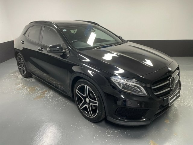 Used Mercedes-Benz GLA-Class X156 806MY GLA250 DCT 4MATIC Hamilton, 2015 Mercedes-Benz GLA-Class X156 806MY GLA250 DCT 4MATIC Black 7 Speed Sports Automatic Dual Clutch