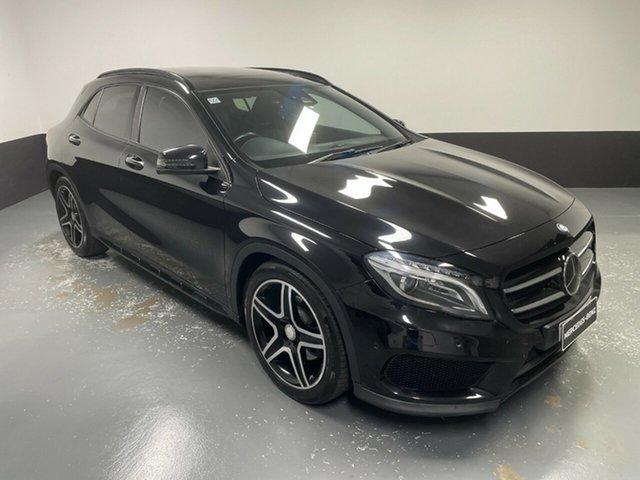 Used Mercedes-Benz GLA-Class X156 806MY GLA250 DCT 4MATIC Hamilton, 2015 Mercedes-Benz GLA-Class X156 806MY GLA250 DCT 4MATIC Black 7 Speed Sports Automatic Dual Clutch