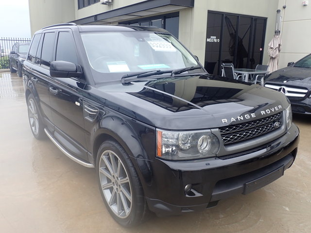 Used Land Rover Range Rover MY10 Sport 3.0 TDV6 Wangara, 2010 Land Rover Range Rover MY10 Sport 3.0 TDV6 Black Diamond 6 Speed Automatic Wagon