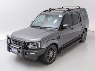 2016 Land Rover Discovery LC MY16.5 Graphite Corris Grey 8 Speed Automatic Wagon