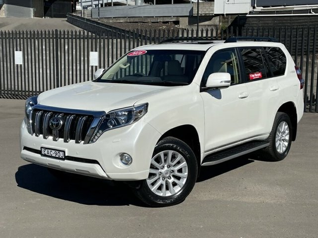 Used Toyota Landcruiser Prado GDJ150R Kakadu Newcastle, 2016 Toyota Landcruiser Prado GDJ150R Kakadu White 6 Speed Sports Automatic Wagon