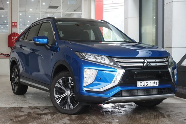 Used Mitsubishi Eclipse Cross YA MY18 Exceed 2WD Parramatta, 2018 Mitsubishi Eclipse Cross YA MY18 Exceed 2WD Lightning Blue 8 Speed Constant Variable Wagon