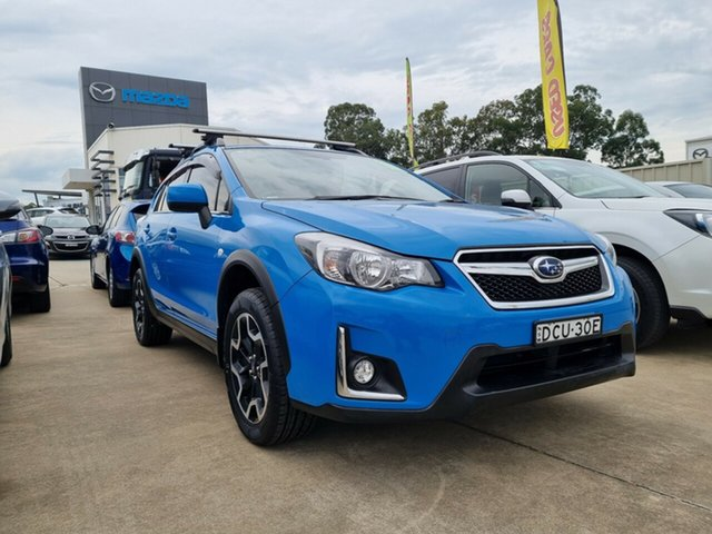 Used Subaru XV G4X MY16 2.0i-L Lineartronic AWD Glendale, 2016 Subaru XV G4X MY16 2.0i-L Lineartronic AWD Blue 6 Speed Constant Variable Wagon