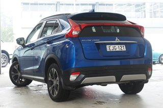 2018 Mitsubishi Eclipse Cross YA MY18 Exceed 2WD Lightning Blue 8 Speed Constant Variable Wagon.