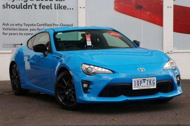 Pre-Owned Toyota 86 Ferntree Gully, 86 GTS 2.0L Petrol Manual Coupe