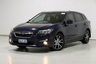 2017 Subaru Impreza MY17 2.0I-L (AWD) Blue Continuous Variable Hatchback.