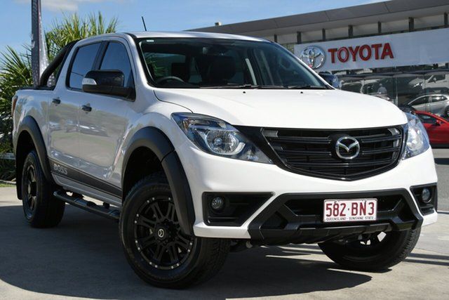 Pre-Owned Mazda BT-50 UR0YG1 Boss North Lakes, 2019 Mazda BT-50 UR0YG1 Boss White 6 Speed Sports Automatic Utility
