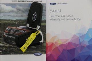 2019 Ford Everest UA II MY19 Trend (4WD 7 Seat) Blue 10 Speed Auto Seq Sportshift SUV