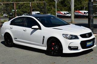 2015 Holden Commodore VF II SS-V Redline White 6 Speed Automatic Sedan.