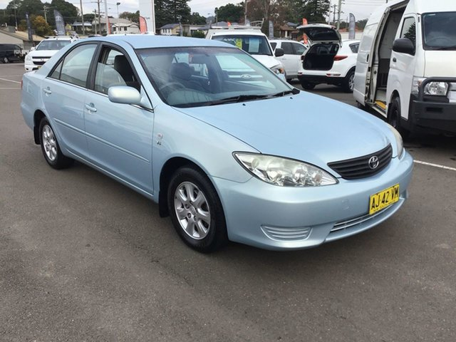 Pre-Owned Toyota Camry MCV36R MY06 Altise Cardiff, 2006 Toyota Camry MCV36R MY06 Altise Blue 4 Speed Automatic Sedan