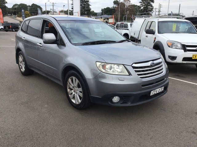 Used Subaru Tribeca B9 MY08 R AWD Cardiff, 2008 Subaru Tribeca B9 MY08 R AWD Silver 5 Speed Sports Automatic Wagon