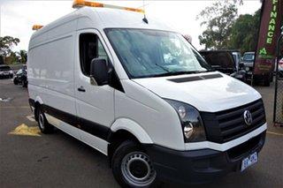 2014 Volkswagen Crafter 2ED1 MY14 35 MWB TDI340 White 6 Speed Manual Van.