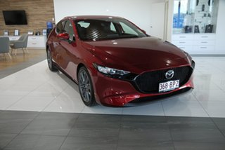 2021 Mazda 3 BP2H7A G20 SKYACTIV-Drive Touring Red 6 Speed Sports Automatic Hatchback.