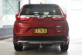 2019 Honda CR-V RW MY20 VTi-S 4WD Red 1 Speed Constant Variable Wagon
