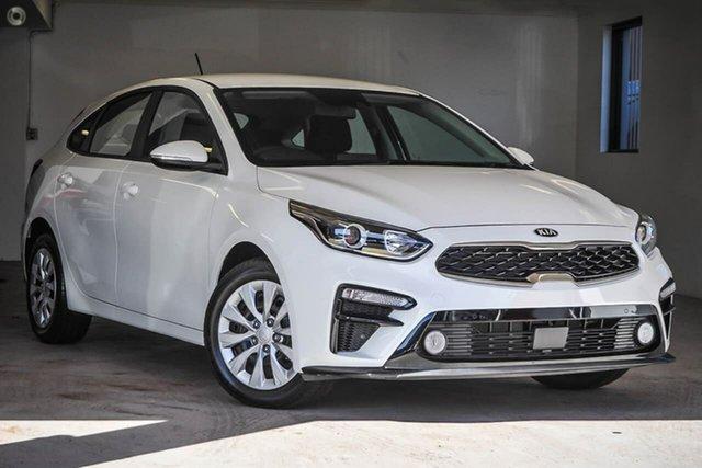 Demo Kia Cerato S Gosnells, 2021 Kia Cerato BD S White Sports Automatic Hatchback