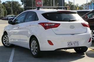 2014 Hyundai i30 GD3 Series II MY16 Active White 6 Speed Sports Automatic Hatchback.