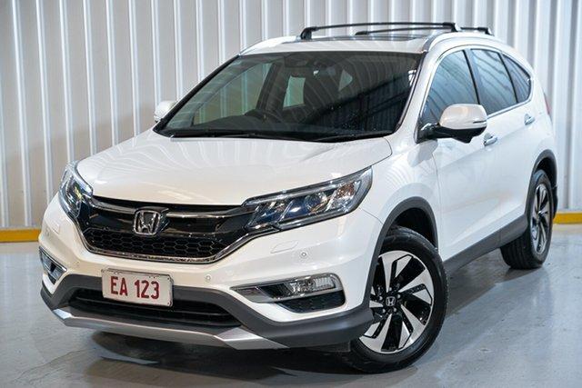 Used Honda CR-V RM Series II MY17 VTi-L 4WD Hendra, 2016 Honda CR-V RM Series II MY17 VTi-L 4WD White 5 Speed Sports Automatic Wagon